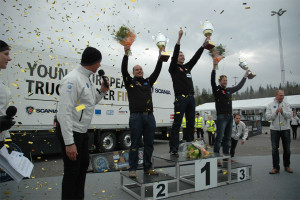 Final campeonato Scania de jóvenes conductores 2015 - YETD