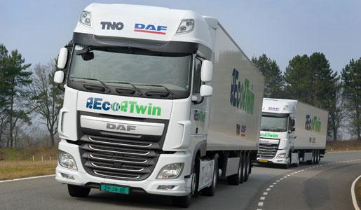 comunicacion inalambrica entre camiones