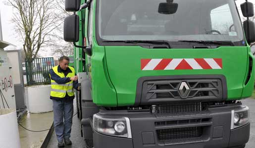 Nuevo Renault Trucks D Wide de gas natural comprimido