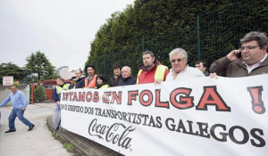 Los transportistas y Coca-Cola alcanzan un acuerdo