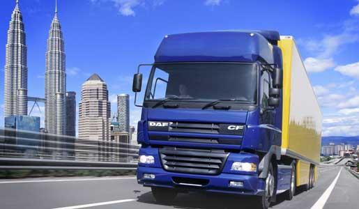 DAF lleva camiones a Malasia