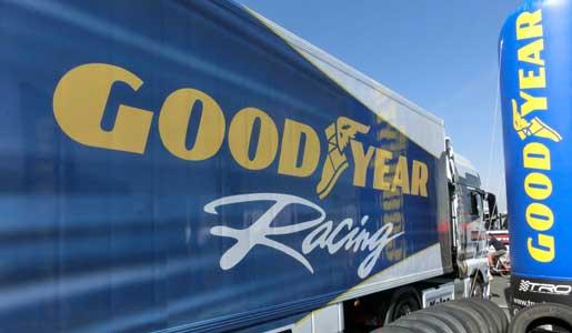 Goodyear seguirá suministrando los neumáticos de los camiones de competición en 2015