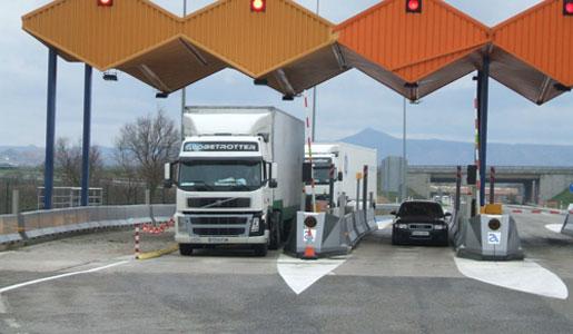 Escaso éxito del plan de desvío de camiones