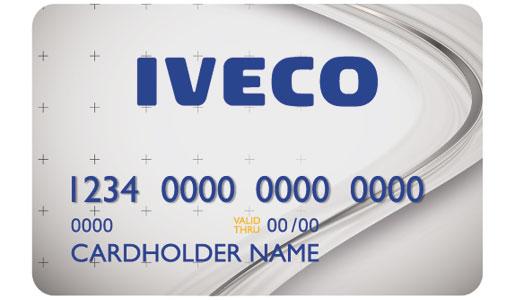 Tarjeta de crédito de Iveco