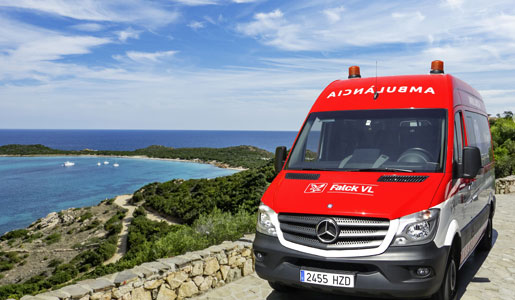 Barcelona contará con ambulancias Sprinter