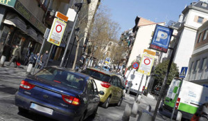 Autorización acceso zonas APR de Madrid