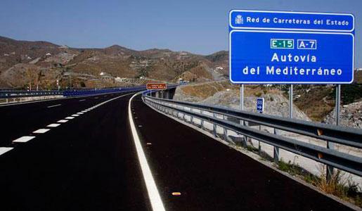 FOMENTO finaliza la Autovía A7 del Mediterráneo
