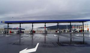 Nueva estación de servicio en la A1