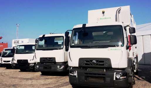 Renault Trucks presenta sus últimas novedades en el sector de los servicios públicos