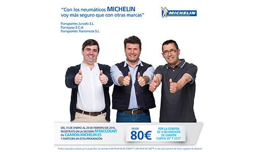 Nueva promoción Michelin camión