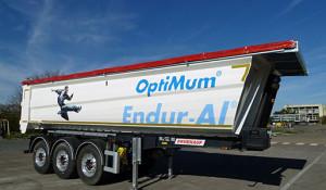 Alcoa y Fruehauf se unen para la fabricación de volquetes de aluminio de tara superreducida fabricados con la aleación aluminio Endur-Al de Alcoa