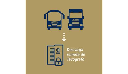 Scania propone una descarga segura remota de los datos del tacógrafo