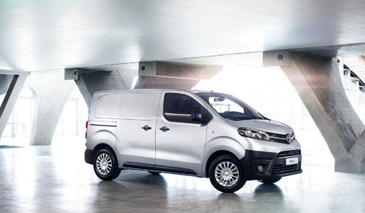 Toyota amplía la oferta de la ProAce VAN