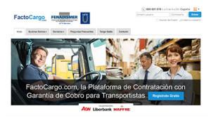 La plataforma de cargas de FENADISMER, Factocargo.com, ha activado el servicio Tengo Saldo para que los transportistas usuarios puedan contratar cargas de forma fácil y segura.