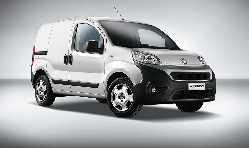 El nuevo Fiorino de Fiat Professional incluye ahorradores motores Euro 6 y destacadas novedades en el interior y el exterior.