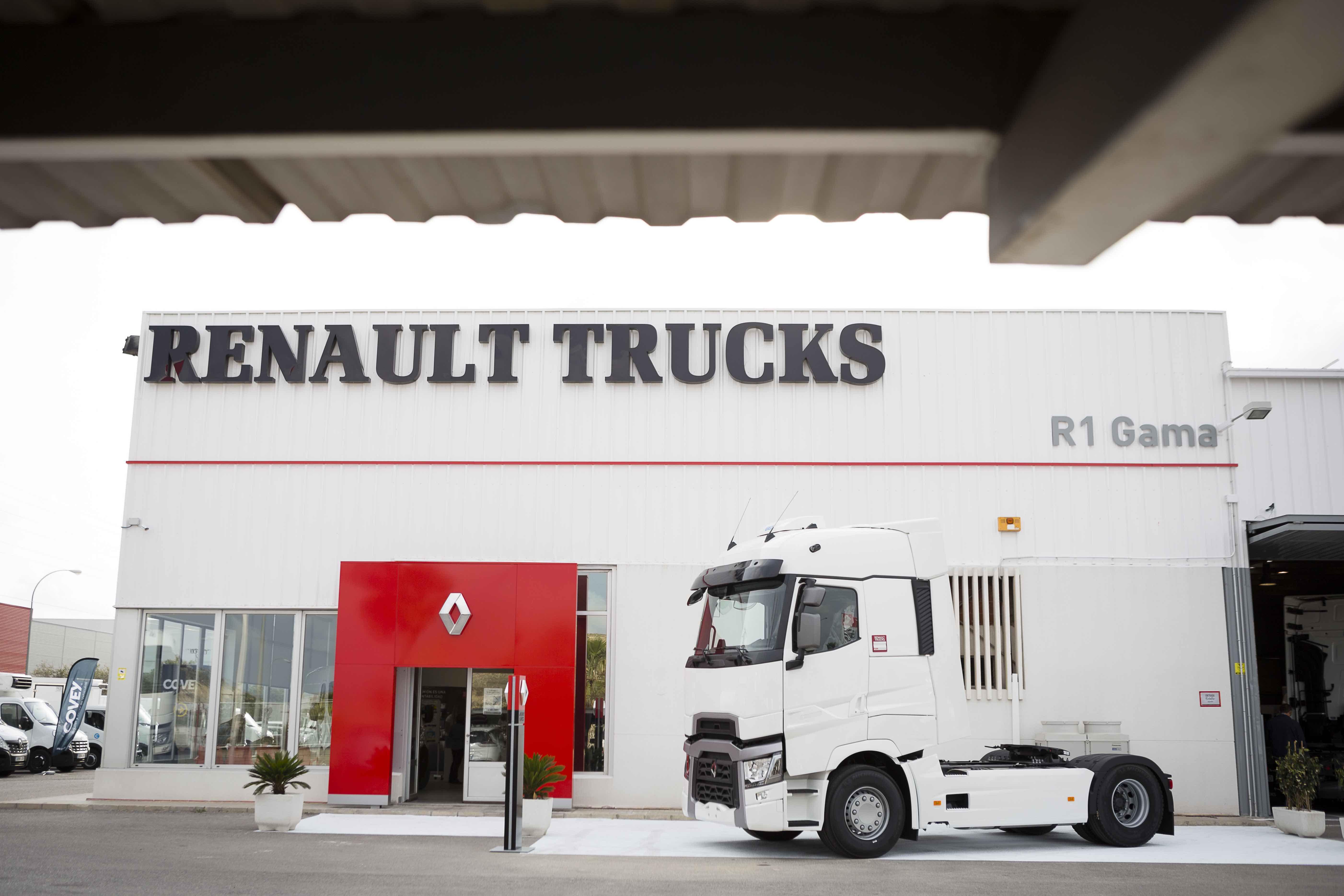 Renault Trucks inaugura un nuevo punto de Red en Alicante de la mano de R1 Gama