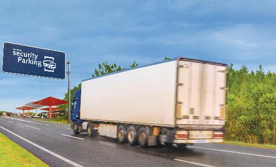 Repsol pone en marcha la red Security Parking de estacionamientos seguros para camiones integrada en su red de estaciones de servicio.