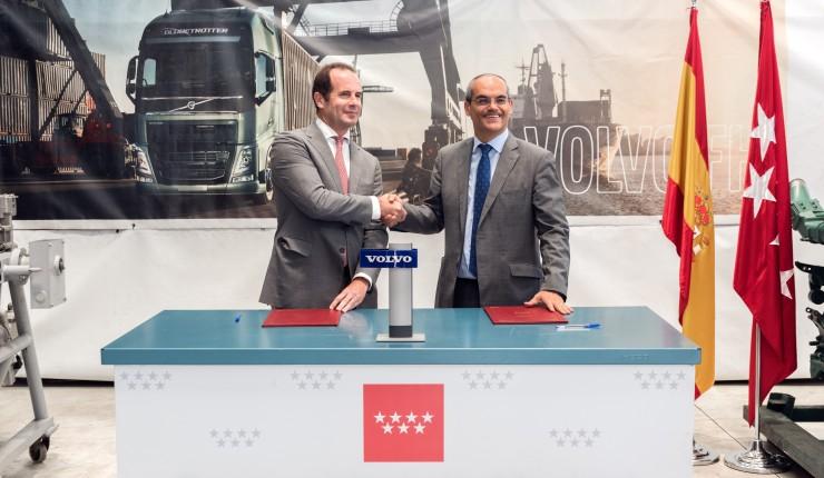 Volvo ha firmado un convenio con la Comunidad de Madrid para formar técnicos en automoción