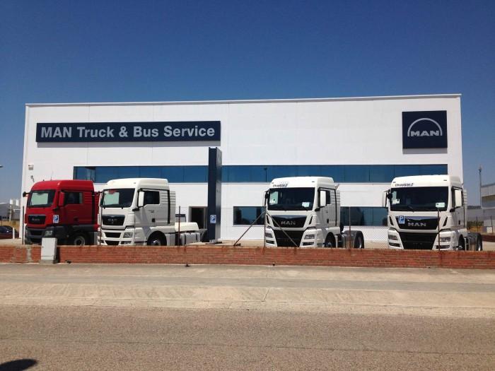Nuevo Truck&Bus Center de MAN en Talavera de la Reina.
