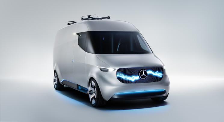 Mercedes-Benz desvela su Visión del transporte del futuro