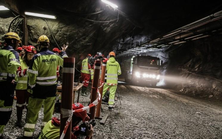 Volvo prueba camiones autónomos en minas