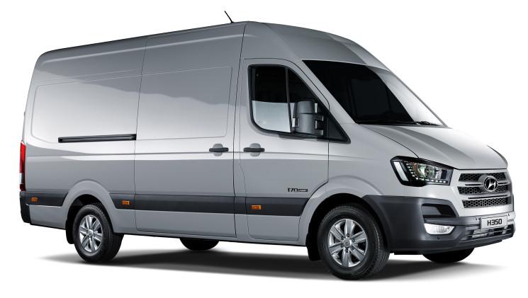 Hyundai consolida la presencia de la H350 en el mercado de furgonetas español.