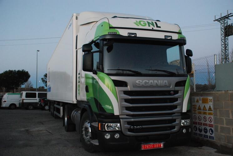 Los vehículos de gas natural de Scania pueden disponer de la caja automática Scania Opticruise.