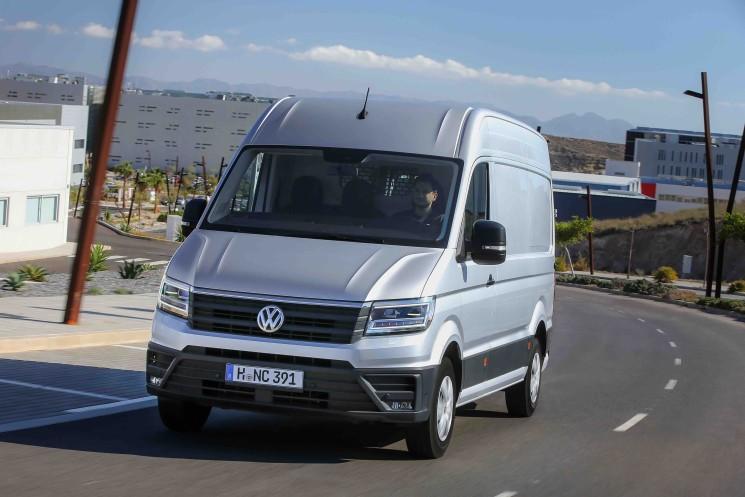 Volkswagen ha presentado la nueva Crafter en Almería