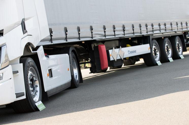 Michelin amplía la gama X Line Energy para conjuntos de vehículos para el transporte de gran volumen.