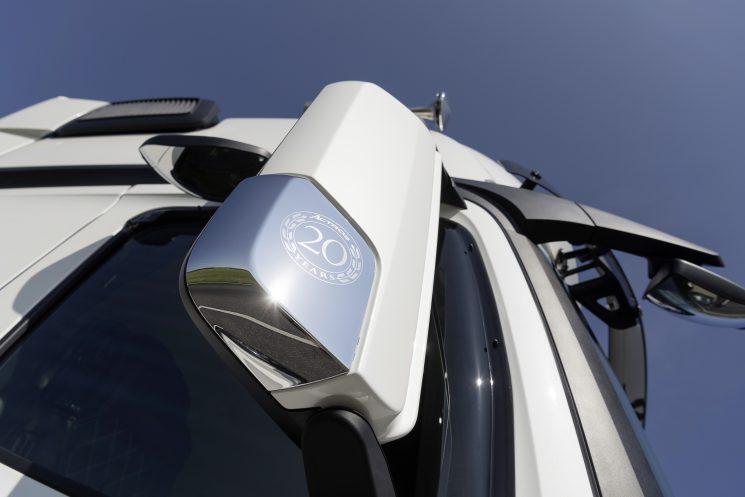 Mercedes-Benz celebra los 20 años del Actros con una edición especial limitada.