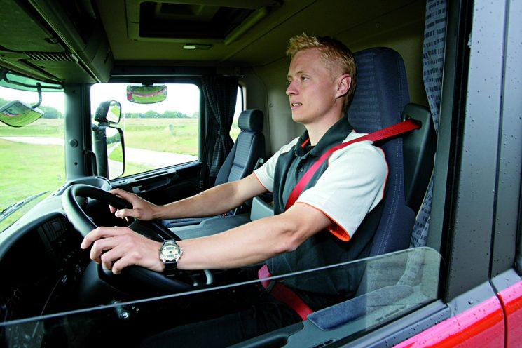 La Inspección de Tacógrafo da como buenos los registros del tacógrafo para confirmar los tiempos de trabajo de los conductores.