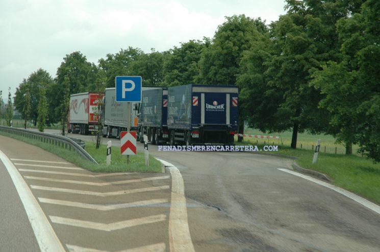 La justicia europea parece que avala el que los conductores tomen el descanso semanal ordinario fuera del camión.
