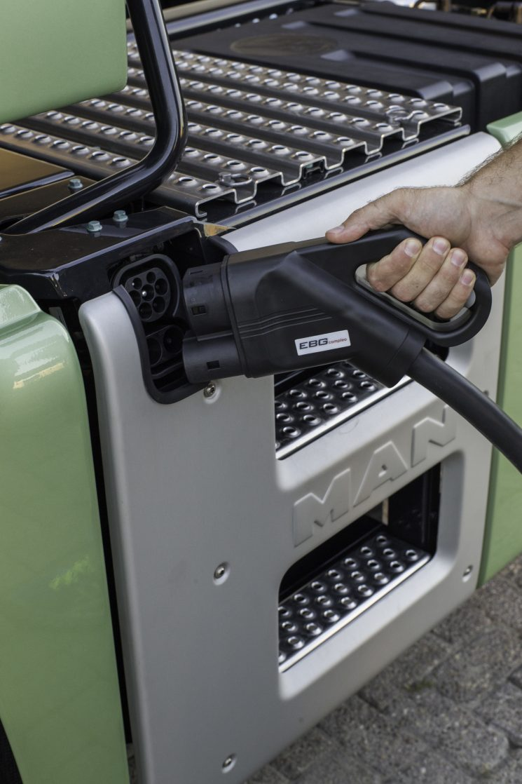 Los camiones eléctricos MAN serán una realidad a partir de 2021.