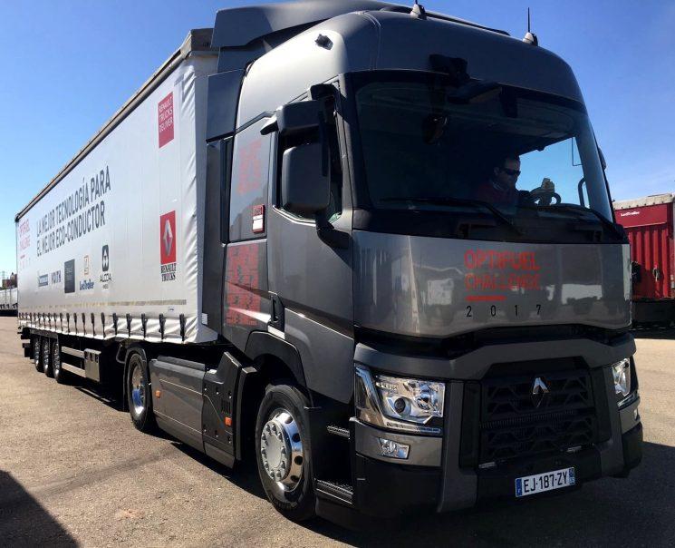 Comienza la fase española del Optifuel Challenge de Renault Trucks en busca del mejor eco-conductor español y representante en la final internacional.