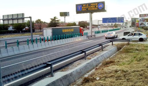 Fomento ha triplicado el presupuesto para el Plan de Desvío de Camiones a las autopistas de peaje.