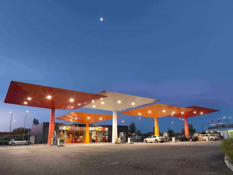 Red de aparcamientos seguros para camiones Repsol Security Parking