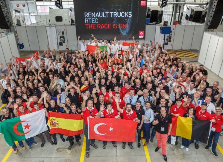 El equipo de postventa del distribuidor de Renault Trucks de Hannover se ha alzado con el primer premio en el desafío postventa del fabricante francés.