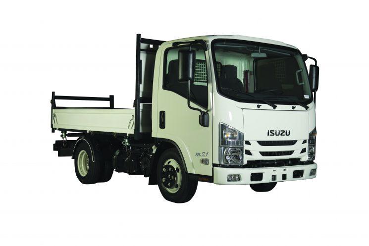 Nuevo Isuzu M21 de 3.5 Tn y con motor de 1.9 l