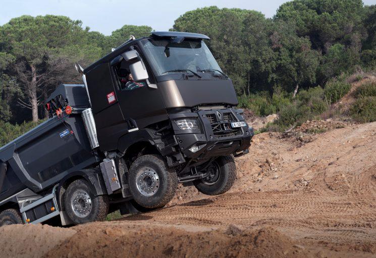 Renautl Trucks facilita la renovación de las gamas de construcción.