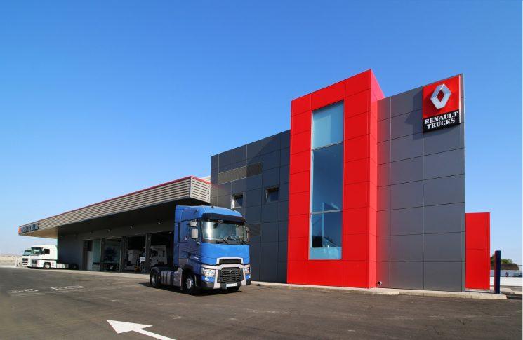 Nuevo punto de red de Renault Trucks en Almería, R1 Gama Almería, situadoi en Huércal.