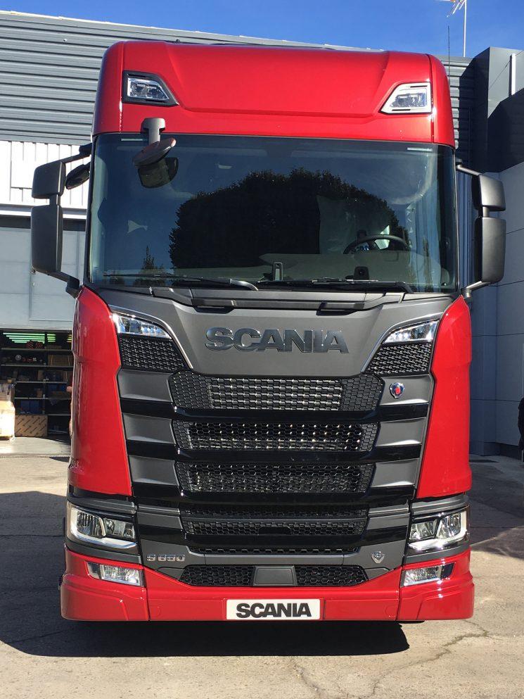 Scania acaba de presentar sus nuevos motores V8.