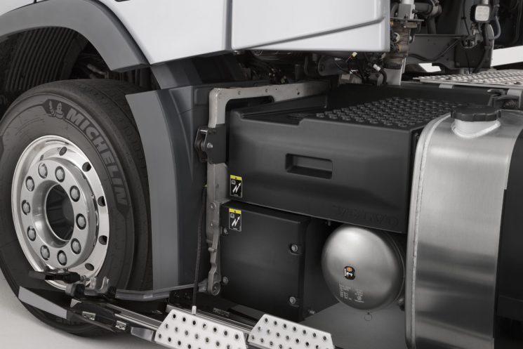 Nuevos sistema de doble batería en los Volvo FH y FM.