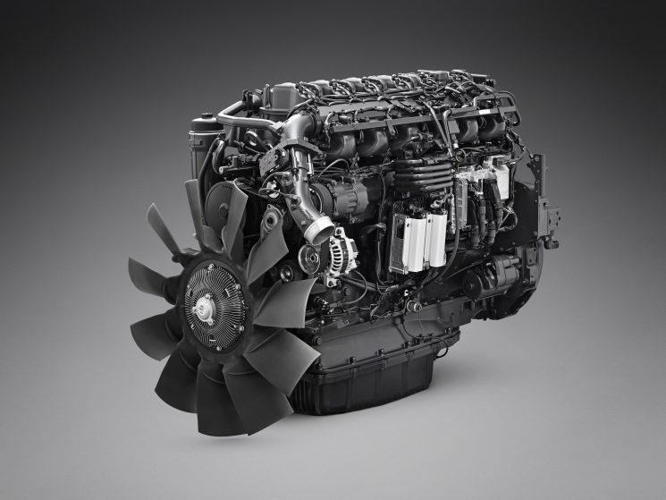 NUevo motor Scania DC07 de siete litros y seis cilindros para la gama P