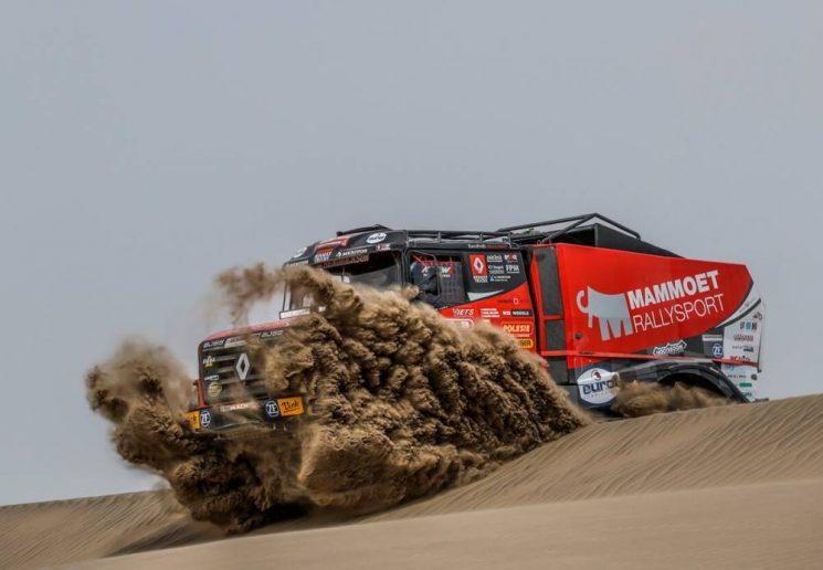 Nikolaev se ha impuesto en la cuarta etapa del Dakar 2018 y sigue liderando la clasificación general.