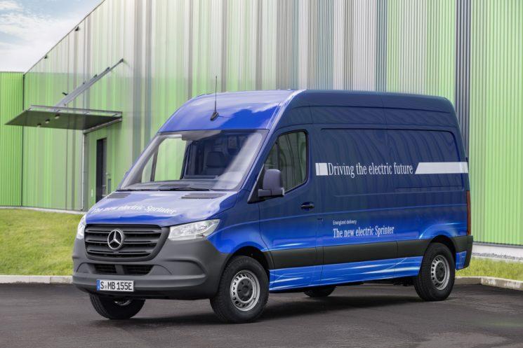 Mercedes-Benz anuncia el lanzamiento de la Sprinter eléctrica, eSprinter. para el año 2019.