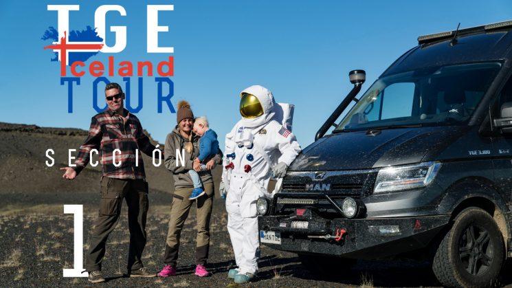Una MAN TGE 4x4 recorre Islandia
