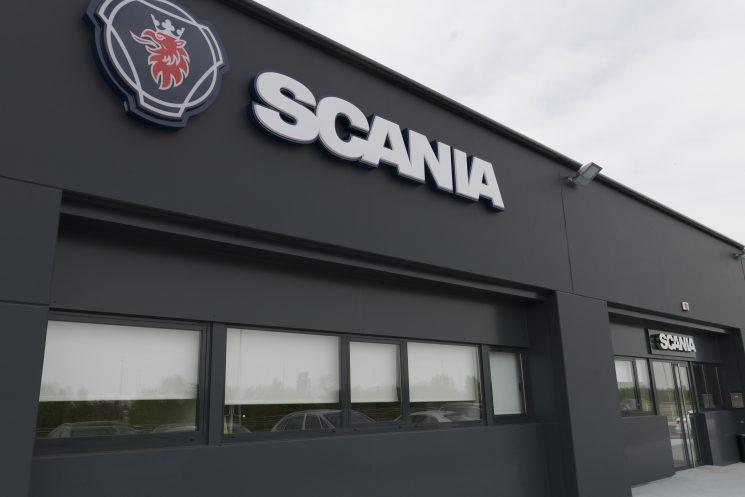 Scania inaugura nuevas instalaciones en Viella Siero, Asturias.