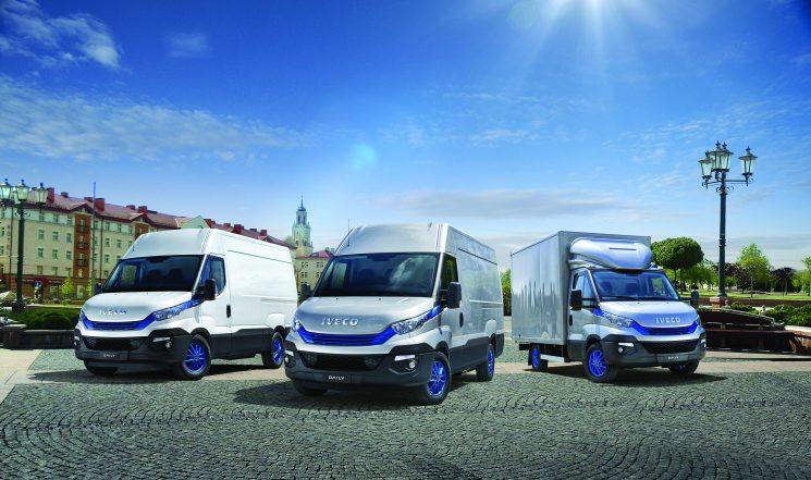 La gama Daily Blue Power de Iveco incluye una versión eléctrica, una diésel y una de gas natural.