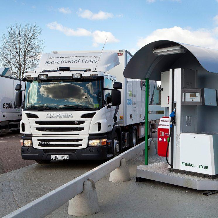 Nuevo motor de bioetanol de 13 litros de Scania para la nueva generación de camiones.