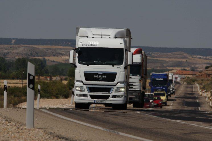 Las toneladas transportadas por los camiones españolas siguen aumentando trimestralmente y son ya 16 trimestres consecutivos de crecimiento.